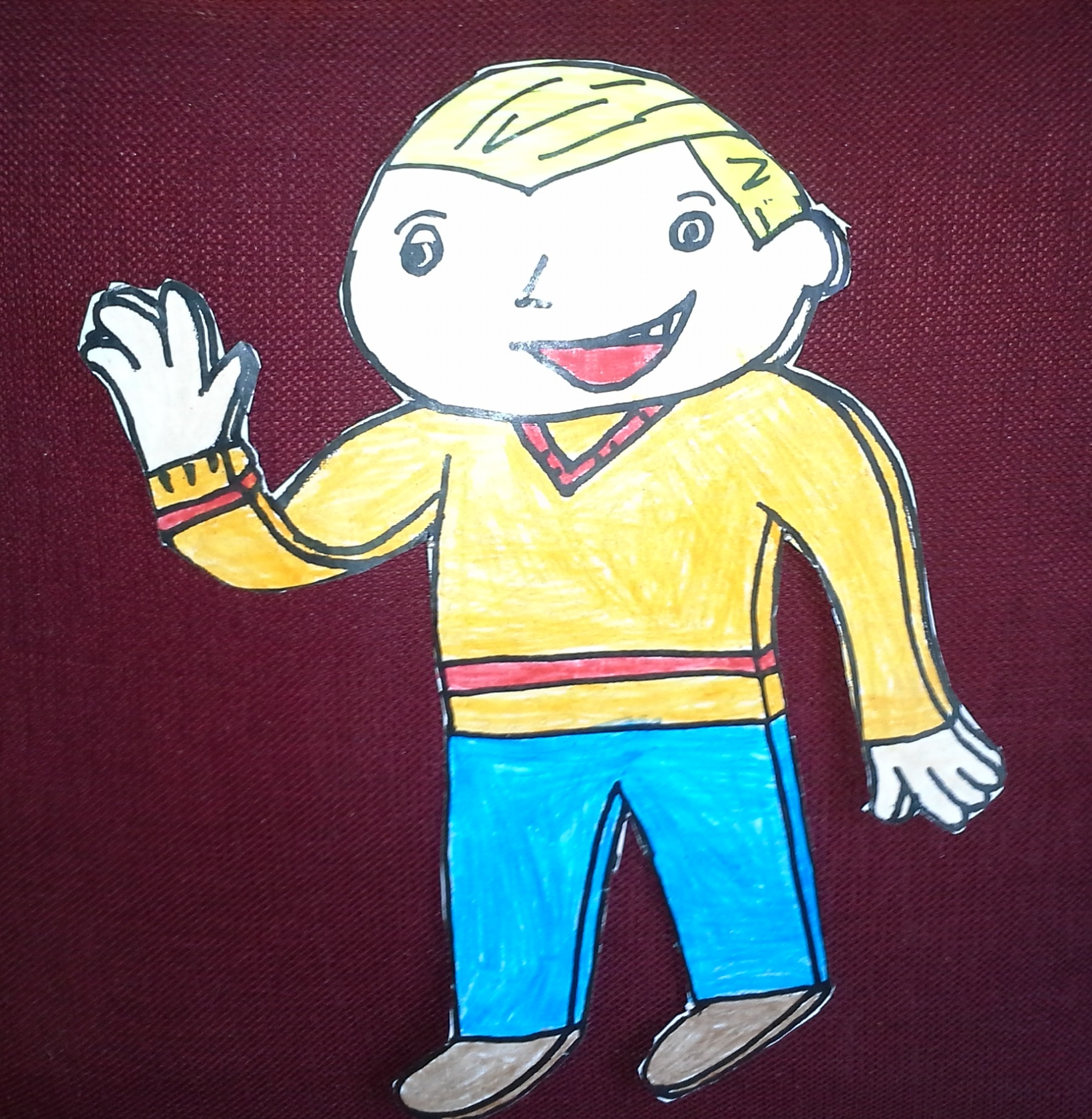 how to draw flat stanley
